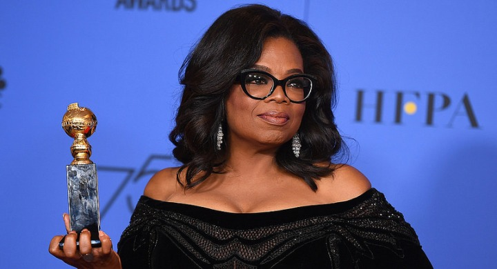 There is no better candidate than Oprah Winfrey to run against Donald Trump in2020